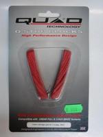 Brzdové boťičky Quad - červené