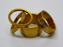Distanční podložky A2Z, zlatá