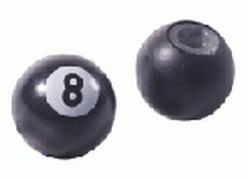 Brave čepička na ventilky 8-Ball Snooker