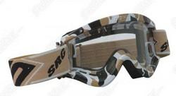Brýle MX / sjezdové Shot Contest goggles dětské SAFARI